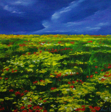 THE PEACEFUL NARRATION OF A POPPY IX - sold