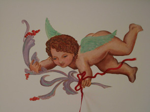 LITTLE ANGEL ON A CEILING I