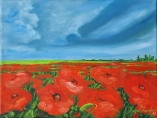 THE PEACEFUL NARRATION OF A POPPY, 19