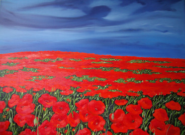 THE PEACEFUL NARRATION OF A POPPY II