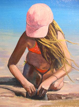 GIRLS ON THE BEACH - DETAIL