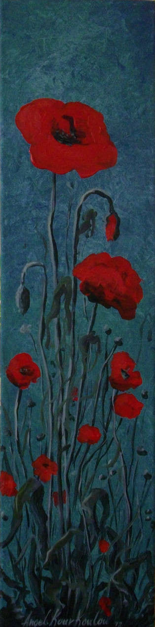 THE PEACEFUL NARRATION OF A POPPY, 40b