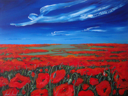 PEACEFUL NARRATION OF A POPPY
