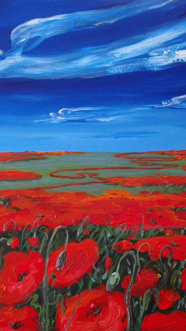 PEACFUL NARRATION OF A POPPY
