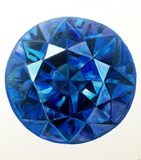 TREASURE FROM WITHIN - blue