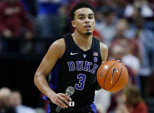 Tre Jones out indefinitely for Duke men's basketball after head in the game but heart in the song