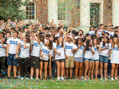 Welcome to Duke! Choose one: Insufferable God complex or crippling imposter syndrome
