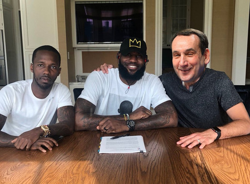 Lebron James promises entire male lineage to Duke basketball