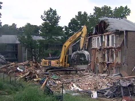 Duke now regretting bulldozing Central Campus due to lack of COVID isolation space