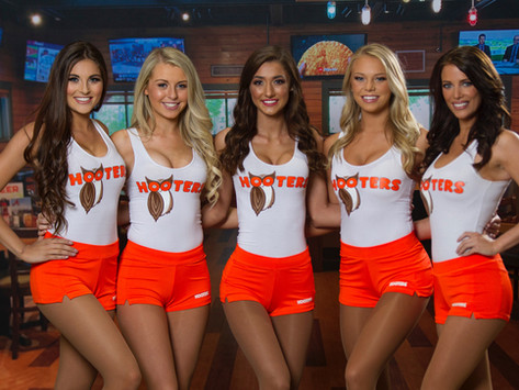 """""""So that's why everyone wore the same outfit,"""" says freshman who went to Hooters instead of Shooters"""
