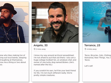 How to use dating apps when you hate any photo a man chooses of himself