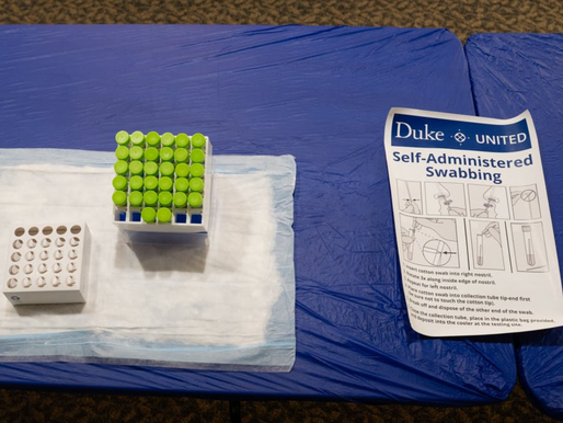 Duke's student COVID-19 positives drop for second week in a row
