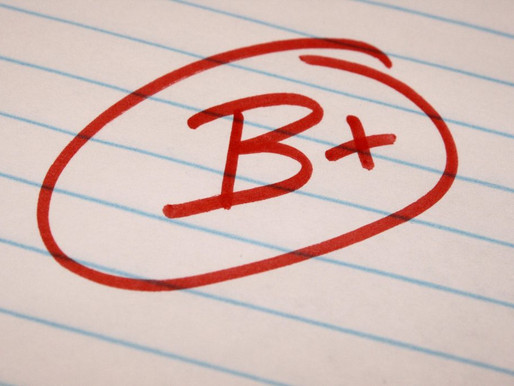 Op-ed: I don't think I should have gotten a B+ on the midterm essay