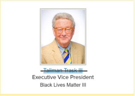"Duke renames Tallman Trask III ""Black Lives Matter III"" as new anti-racism initiative"