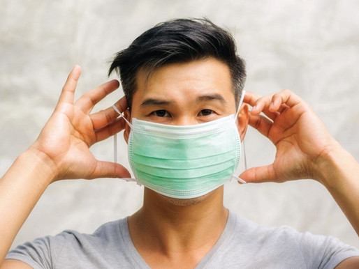 Safety first: First year puts mask back on after puking on other first year