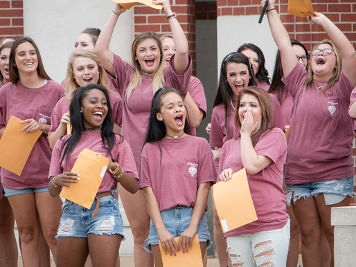 Girl adds joining a low-tier sorority to Volunteer section of resume