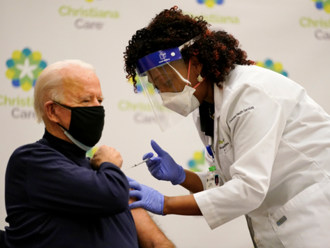 """""""Biden is not healthy enough to be president,"""" says guy who doesn't believe in getting vaccinated"""
