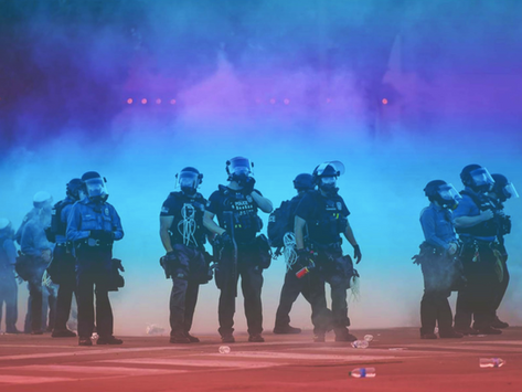Local police department celebrates Pride Month in style with rainbow-colored tear gas