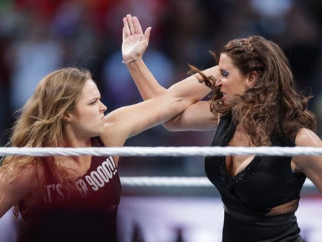 Wow! Stephanie McMahon Talks To Ronda Rousey About Joining WWE