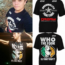 Our Fight Team Shirt and Who The Fook Is This Guy Shirts