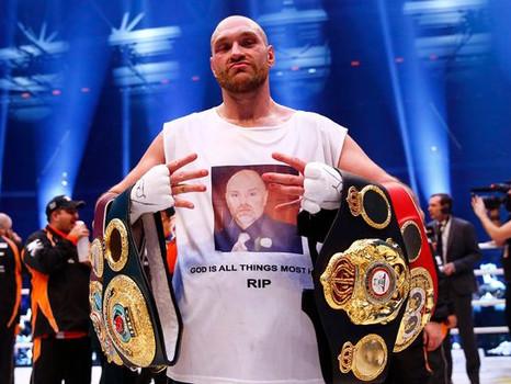World Champ Tyson Fury Announces His Retirement