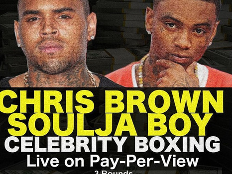 Wow. Soulja Boy and Chris Brown in boxing fight promoted by Mayweather Promotions