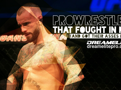 Pro Wrestlers that fought in MMA