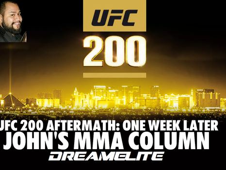 UFC 200 Review: One Week Later - John's MMA Column