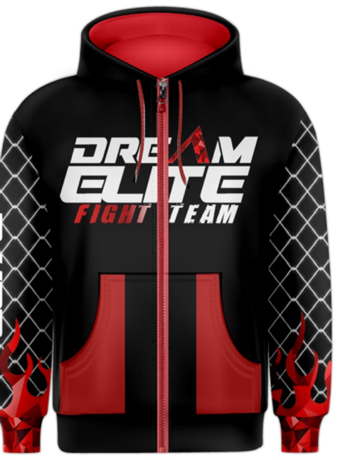 Fight Team Red Hoodie