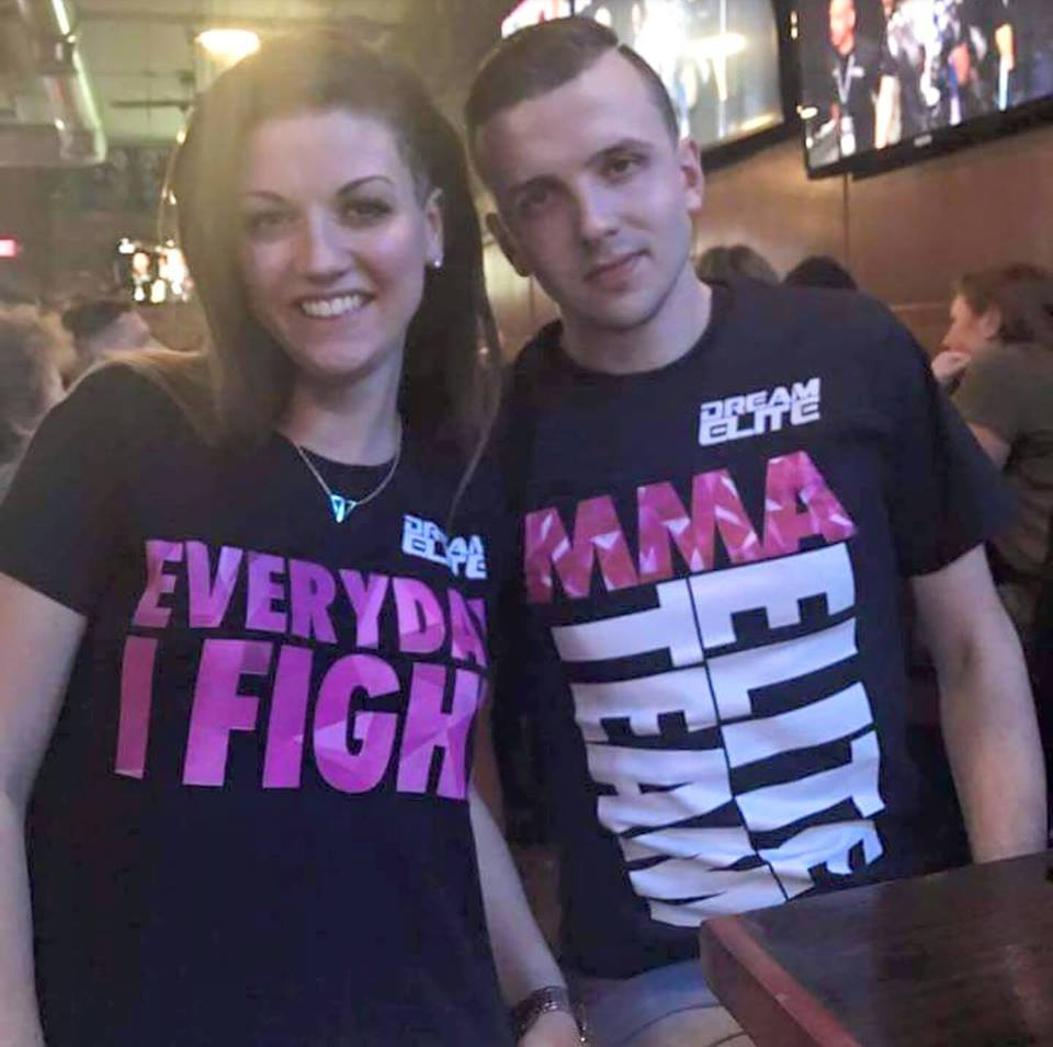 Our Favorite Couple in our Dream Elite Shirts