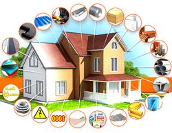 Комплекс работ при строительстве частного дома