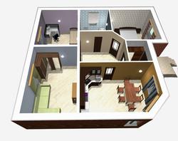 3D план