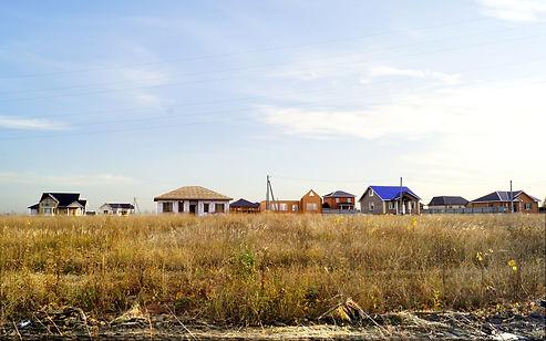Дома в поселке Лазурный