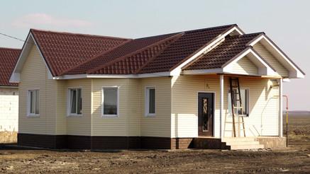 Одноэтажный дом площадью 90 кв.м.