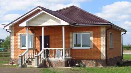 Одноэтажный  компактный дом
