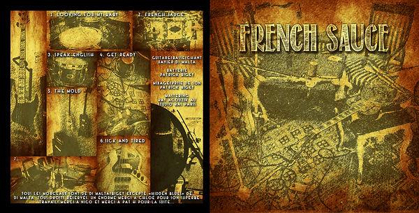 Pochette et crédits album Frenc Sauce