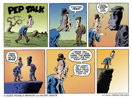 Pep Talk#8:  Donald Benson