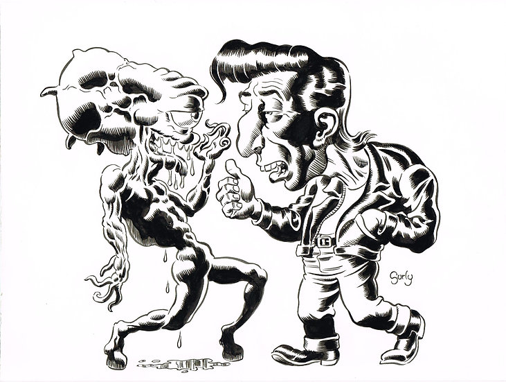 Alien vs. Greaser