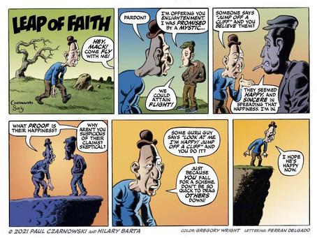 Pep Talk #13: Leap of Faith by Paul Czarnowski