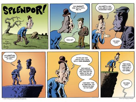 Pep Talk #11: Splendor! by Dan Dougherty