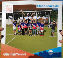 Tennis For Kids Club graduation day