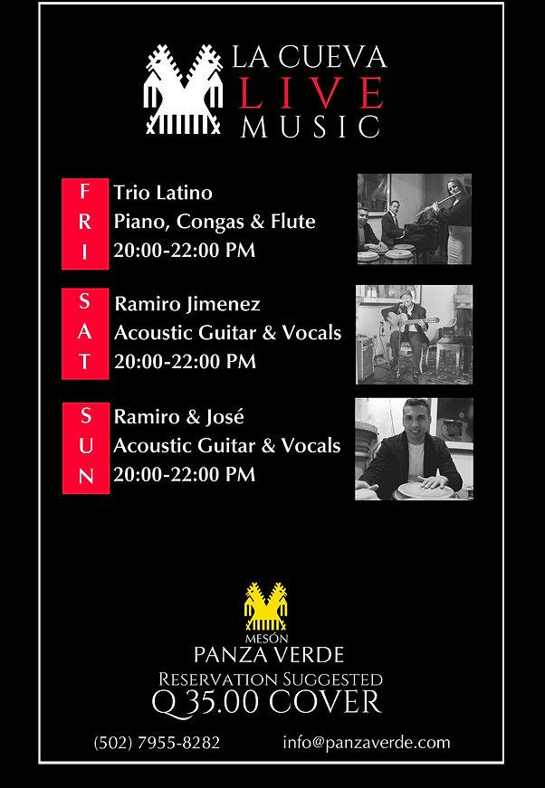La Cueva Live Music Meson Panza Verde