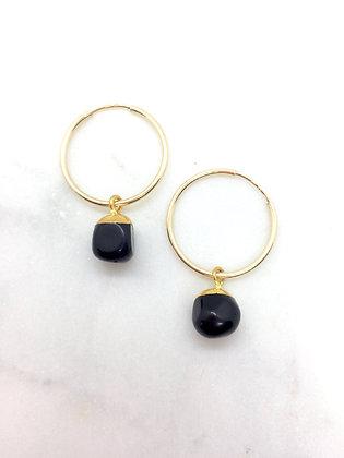 Stone Gold Earrings