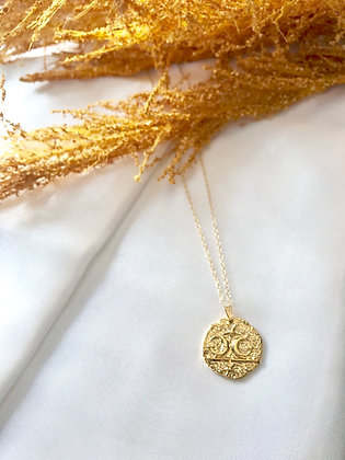 Coin Moon Necklace *Best Seller