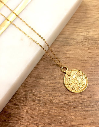 Adjustable Coin Necklace