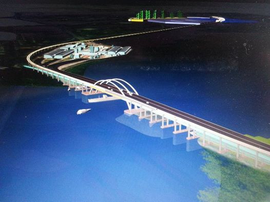 Why not an elevated bridge?
