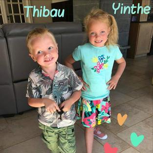 Thibau en Yinthe