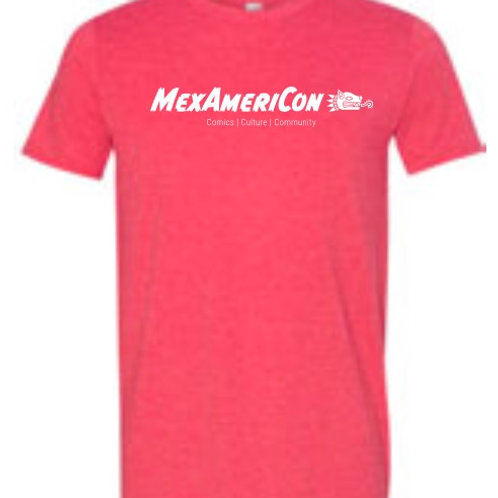 Mexamericon 2020 T-Shirt Heather Red