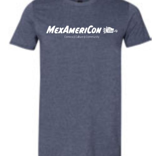 Mexamericon 2020 T-Shirt Heather Charcoal
