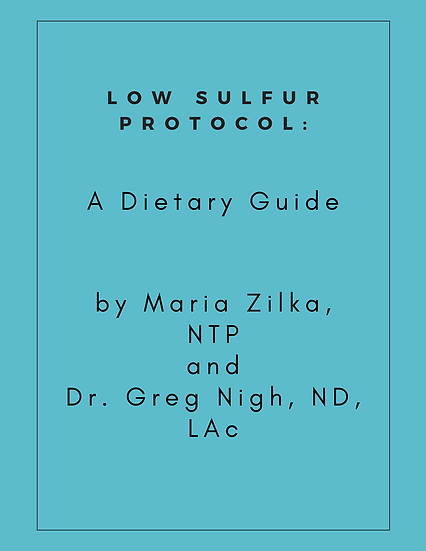 Low Sulfur Protocol - The Guide